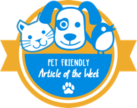 Pet Friendly Article of the Week
